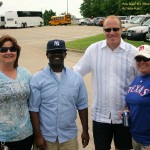 HATC hosts a tailgating party for the Texas Rangers