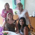 Julie Faver-Dylla, Tina Patel and Sandee Treptow at Nasher Event