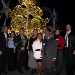 HATC BOARD OF DIRECTORS AND GUESTS AT ICE EXHIBIT