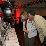 Silent Auction was VERY popular - more than 150 items!
