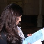 Tina Patel - Preparing her Script